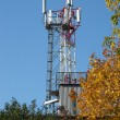 Mobile communication tower — Stock Photo