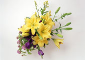 Bouquet of flower arrangement — Stock Photo