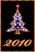 Christmas greetings card — Stock Photo