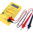 Digital multimeter on white background — Stock Photo #2613633