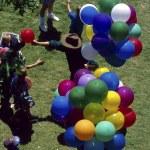 Постер, плакат: Balloons Man