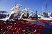 Dragon Boats — Stock Photo