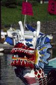 Dragon boat head — Stock Photo