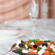 Greek vegetable salad with feta cheese — Stock Photo #1565899