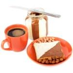 Toast with chocolate — Stock Photo