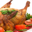 Close-up of roasted chicken — Stock Photo