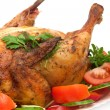 Close-up of roasted chicken — Stock Photo #2551063