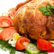 Close-up of roasted chicken — Stock Photo #2551099
