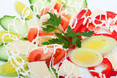 Close-up of vegetable salad — Stock Photo