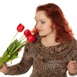 Beautiful redhaired woman — Stock Photo
