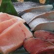 filetto crudo di pesce salmone fresco — Foto Stock