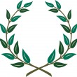 Vector Laurel Wreath — Stock Vector