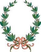 Vector Laurel Wreath — Stock Vector