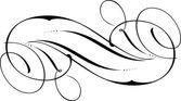 каллиграфический дизайн — Cтоковый вектор