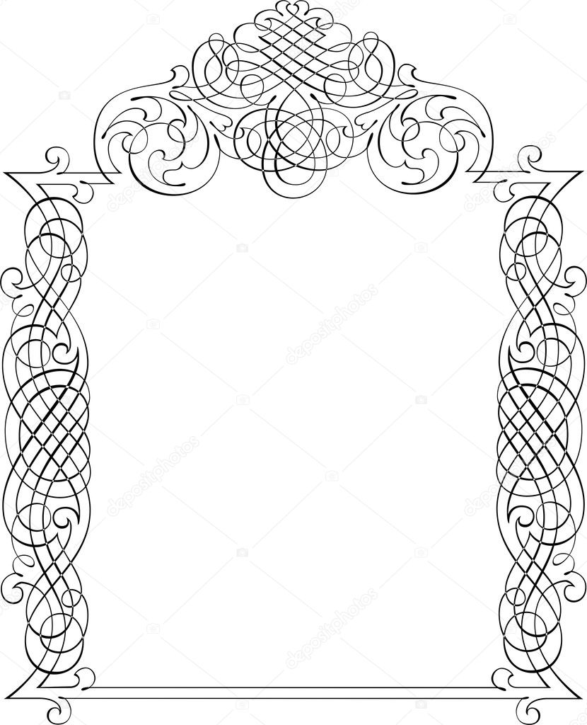 Calligraphy Borders and Frames