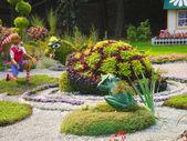 Układania kwiatów — Zdjęcie stockowe