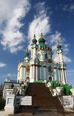 Andreyivskaya church — Stock Photo
