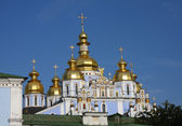 The Myhailivskyj gold-domed cathedral — Stock Photo