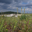 Crimea steppe in the mountain plato — Stock Photo