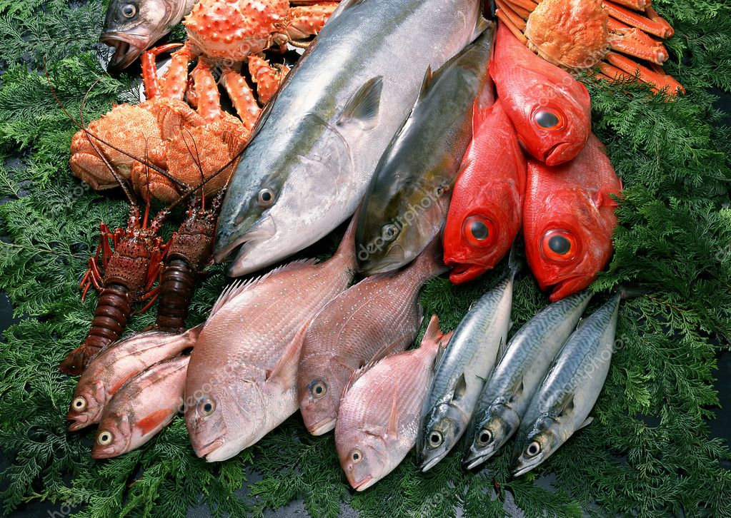 Fresh and healthy fish seafood  Stock Photo #1517343