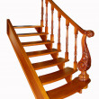 Wooden stair  — Stock Photo