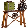 Old projector for cinema demonstration — Stock Photo