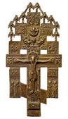 Oude orthodoxe kruis — Stockfoto