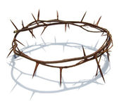 Thorns wreath Christ — Stock Photo
