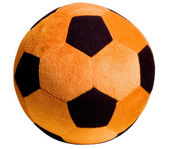 Child's sporting soccer ball — Stock Photo