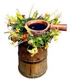 Popular herbal drinks — Stock Photo