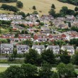 Stock Photo: Houses from Conwy