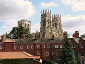 Beautiful view of York-Minster — Stock Photo