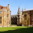 Cambridge, England, Trinity College — Stock Photo