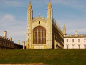 Chapel of Kings College from Cambridge — Stock Photo