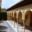 Stock Photo: Inside Generalife