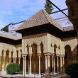 Lions court from Alhambra — Stock Photo