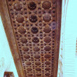 Stock Photo: Wood ceiling from Generalife