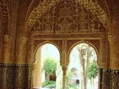 Inside Alhambra — Stock Photo