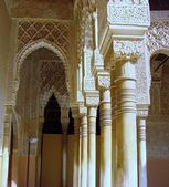 Traditional Moorish Ornament columns — Zdjęcie stockowe
