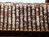 Tiled roof from Alhambra — Stock Photo