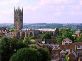 Warwick: The cathedral — Stock Photo