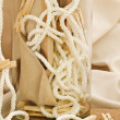 Composition with clothespins - 