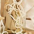 Composition with clothespins - Stockfoto