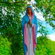 Stock Photo: Lithuania. Statue of Virgin Mary