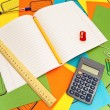 Office supplies — Stock Photo #1498010