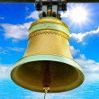 Bell in nature - Stock Photo