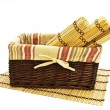 Basket and mats — Foto de stock #1498445