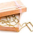 Gift box with jewellery — Stock Photo #1498512