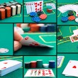 Stock Photo: Casino set