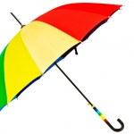 Multicolored umbrella — Stock Photo
